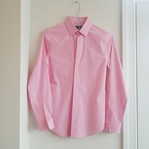 Express 1MX Extra Slim Fit Dress Shirt sz XS
